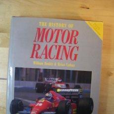 Coches y Motocicletas: THE HISTORY OF MOTOR RACING - WILLIAM BODDY Y BRIAN LABAN - 1988 - LIBRO - COCHES. Lote 113858303