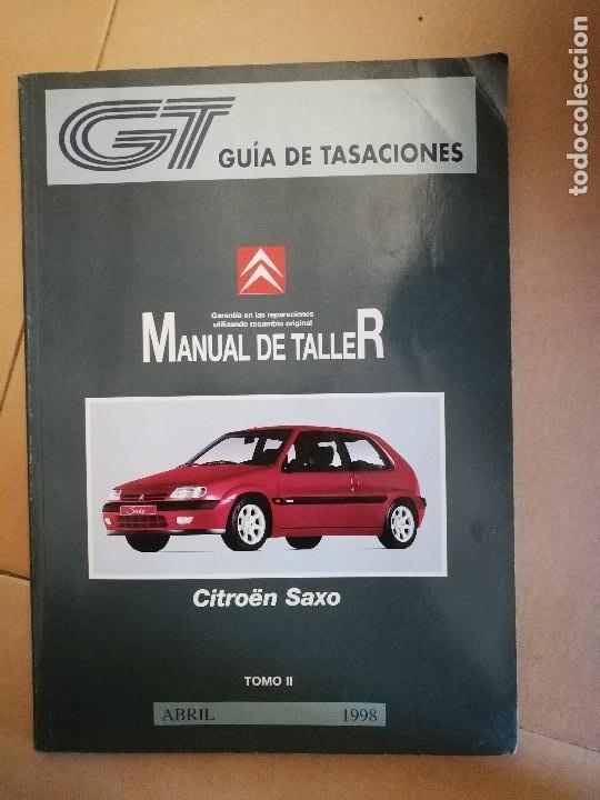manual de taller o reparaci n coche citroen s comprar cat logos rh todocoleccion net manual de taller citroen saxo manual de taller citroen saxo 1.5d pdf