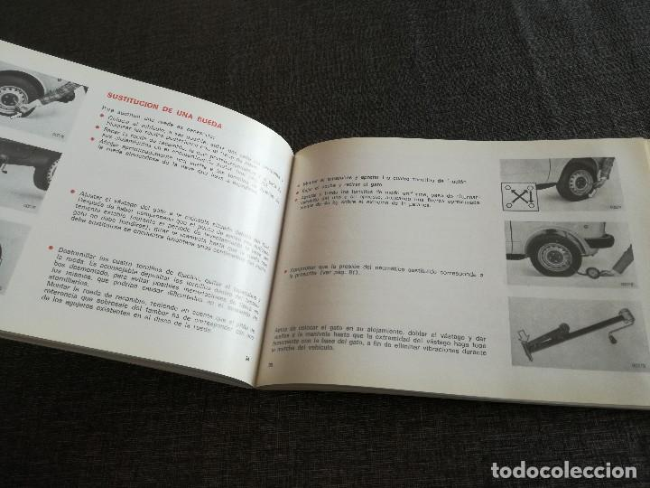 Coches y Motocicletas: LOTE 3 MANUALES SEAT: 124 D, 127, PANDA - MANUAL DE USO Y ENTRETENIMIENTO - Foto 5 - 115029859