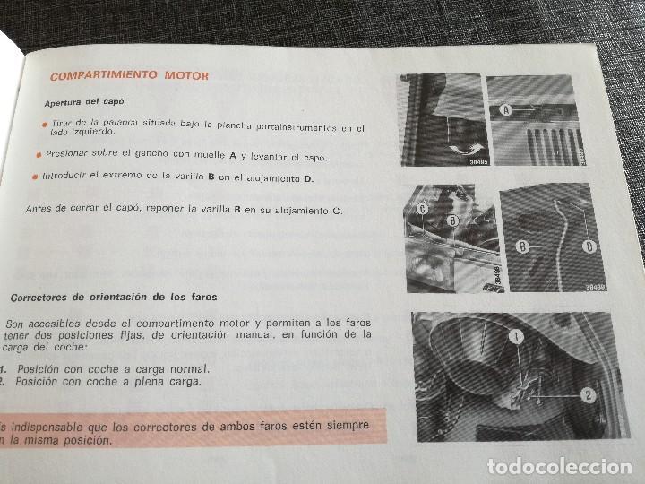 Coches y Motocicletas: LOTE 3 MANUALES SEAT: 124 D, 127, PANDA - MANUAL DE USO Y ENTRETENIMIENTO - Foto 8 - 115029859