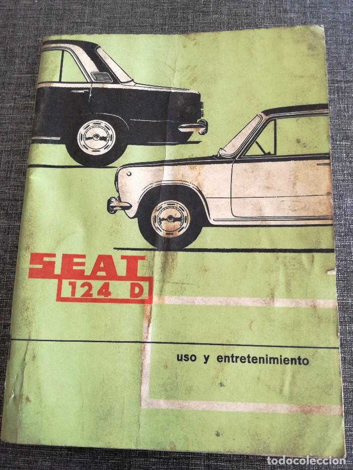 Coches y Motocicletas: LOTE 3 MANUALES SEAT: 124 D, 127, PANDA - MANUAL DE USO Y ENTRETENIMIENTO - Foto 10 - 115029859