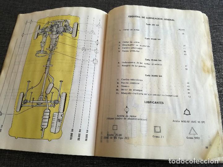 Coches y Motocicletas: LOTE 3 MANUALES SEAT: 124 D, 127, PANDA - MANUAL DE USO Y ENTRETENIMIENTO - Foto 13 - 115029859