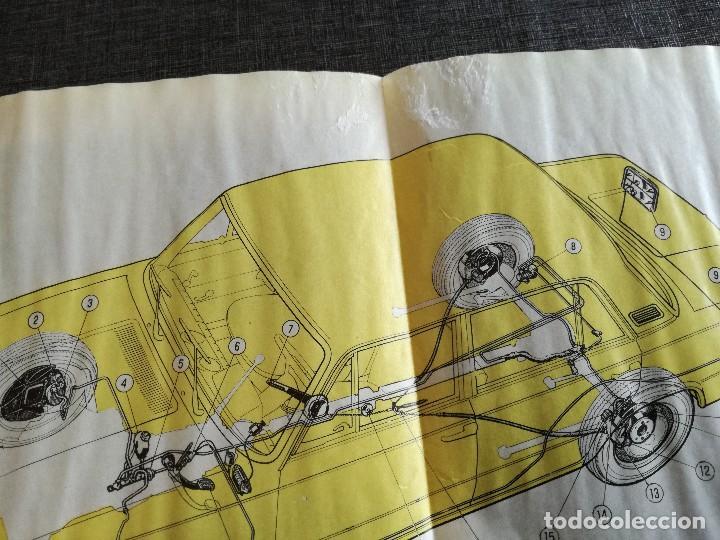 Coches y Motocicletas: LOTE 3 MANUALES SEAT: 124 D, 127, PANDA - MANUAL DE USO Y ENTRETENIMIENTO - Foto 14 - 115029859