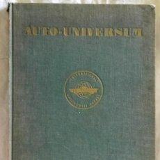 Coches y Motocicletas: AUTO - UNIVERSUM 1968 / INTERNATIONAL AUTOMOBILE PARADE VOL. XI. Lote 125059612