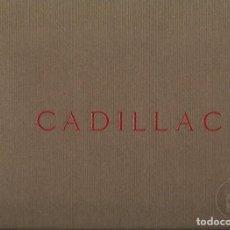 Coches y Motocicletas: CATALOGO CADILLAC 1928. Lote 115736579