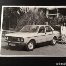 Coches y Motocicletas: SEAT 132 DIESEL MERCEDES - FOTO PRENSA ORIGINAL FOTOGRAFIA - NO CATALOGO FOLLETO MANUAL. Lote 116564771