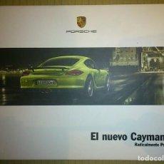 Coches y Motocicletas: CATÁLOGO PORSCHE CAYMAN R. ENERO 2011. EN ESPAÑOL. Lote 148221420