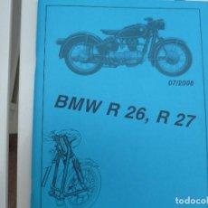 Coches y Motocicletas: BMW MOTOS R 26 - R 27 CATALOGO ORIGINAL. Lote 134063226