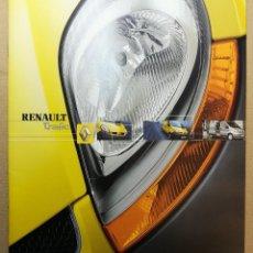 Coches y Motocicletas: CATALOGO FOLLETO PUBLICIDAD ORIGINAL. RENAULT TRAFIC . AÑO 2004 . 44 PAG.. Lote 117326683