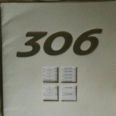 Coches y Motocicletas: CATALOGO PEUGEOT 306 AÑOS 90. Lote 117344667