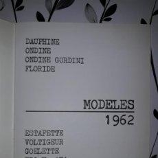 Coches y Motocicletas: COCHES Y FURGONETAS ANTIGUOS RENAULT, ONDINE,FLORIDE,ESTAFETTE, 4L, F6, ETC DE 1961-62. Lote 117347158