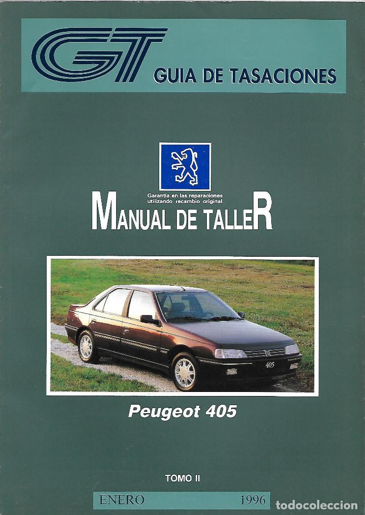peugeot 405 fase ii manual taller y tiempos de comprar cat logos rh todocoleccion net manual peugeot 405 pdf manual peugeot 405 pdf