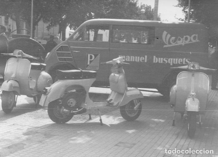 Foto Vespa Furgoneta Auto Union Del Concesionar Comprar Catalogos