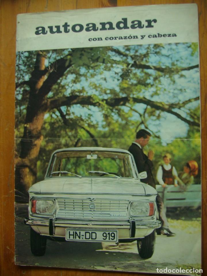 CATALOGO NSU MOTORENWERKE AUTOANDAR (Coches y Motocicletas Antiguas y Clásicas - Catálogos, Publicidad y Libros de mecánica)