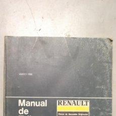 Coches y Motocicletas - MANUAL TALLER RENAULT 5 MARZO 1986 GUIA DE TASACIONES - 118169807