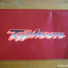 Coches y Motocicletas: MANUAL USUARIO VESPA PIAGGIO TYPHOON. Lote 118238103