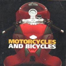 Coches y Motocicletas: MOTORCYCLES & BICYCLES : CATÁLOGO DE SUBASTA DE SOTHEBY'S, CHICAGO, 1999 - MOTOS Y BICICLETAS. Lote 118337275