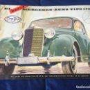 Coches y Motocicletas: MERCEDES BENZ 170 S 1950 CATALOGO SALES BROCHURE. Lote 118459767