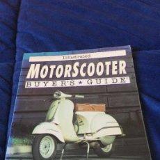 Coches y Motocicletas: LIBRO MOTORSCOOTER BUYER´S GUIDE VESPA LAMBRETTA MICHAEL DREGNI 1993. Lote 118467603