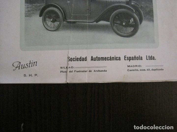 Coches y Motocicletas: CATALOGO COCHES AUTOMOVILES AUSTIN-SOCIEDAD AUTOMECANICA ESPAÑOLA - VER FOTOS - (V-14.317) - Foto 4 - 118568007