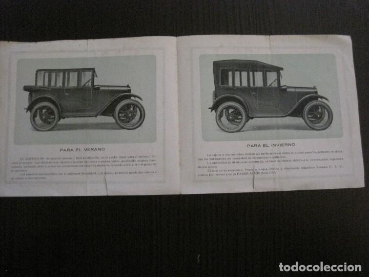 Coches y Motocicletas: CATALOGO COCHES AUTOMOVILES AUSTIN-SOCIEDAD AUTOMECANICA ESPAÑOLA - VER FOTOS - (V-14.317) - Foto 5 - 118568007