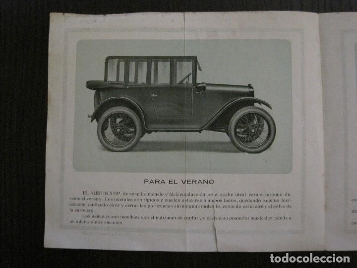 Coches y Motocicletas: CATALOGO COCHES AUTOMOVILES AUSTIN-SOCIEDAD AUTOMECANICA ESPAÑOLA - VER FOTOS - (V-14.317) - Foto 6 - 118568007