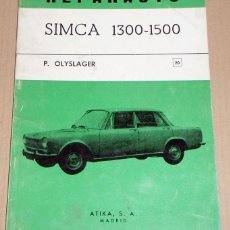 Coches y Motocicletas: REPARAUTO Nº 20 SIMCA 1300-1500. Lote 119045179
