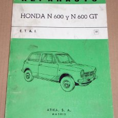 Coches y Motocicletas: REPARAUTO Nº 50 HONDA N600 Y N 600GT. Lote 119053115