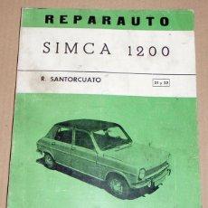 Coches y Motocicletas: REPARAUTO Nº 51 Y 52 SIMCA 1200. Lote 119053135