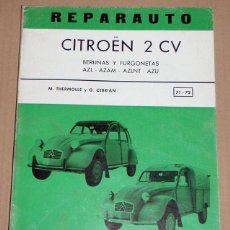 Coches y Motocicletas: REPARAUTO Nº 71 Y 72 CITROËN 2 CV. Lote 119053431