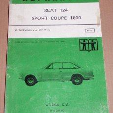 Coches y Motocicletas: REPARAUTO Nº 81 Y 82 SEAT 124 SPORT COUPE 1600. Lote 119053511