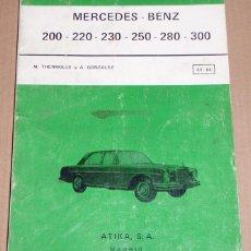 Coches y Motocicletas: REPARAUTO Nº 83 Y 84 MERCEDES BENZ. Lote 119053543