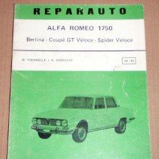 Coches y Motocicletas: REPARAUTO Nº 89 Y 90 ALFA ROMEO. Lote 119053591