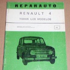 Coches y Motocicletas: REPARAUTO Nº 106 RENAULT 4. Lote 119054535