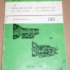 Coches y Motocicletas: REPARAUTO Nº 110 TRANSMISION AUTOMATICA. Lote 119054815