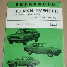Coches y Motocicletas: REPARAUTO Nº 114 HILLMAN AVENGER. Lote 119055019
