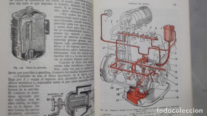 Coches y Motocicletas: MANUAL DE AUTOMOVILES ARIAS PAZ 38 EDICION 1970 REIMPRESION - Foto 4 - 119056459