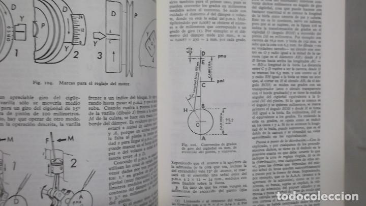 Coches y Motocicletas: MANUAL DE AUTOMOVILES ARIAS PAZ 38 EDICION 1970 REIMPRESION - Foto 5 - 119056459