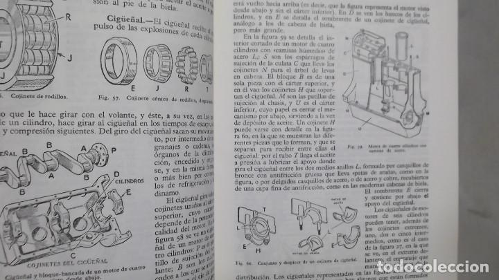 Coches y Motocicletas: MANUAL DE AUTOMOVILES ARIAS PAZ 38 EDICION 1970 REIMPRESION - Foto 6 - 119056459