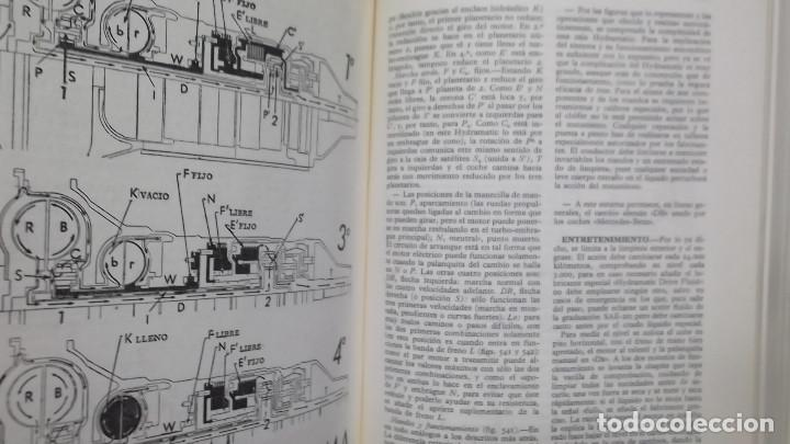 Coches y Motocicletas: MANUAL DE AUTOMOVILES ARIAS PAZ 38 EDICION 1970 REIMPRESION - Foto 7 - 119056459