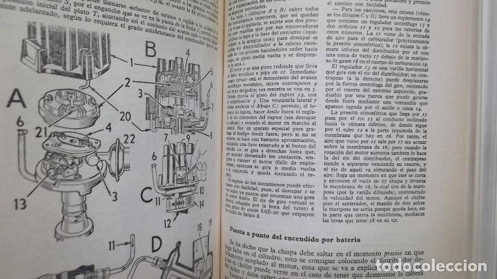 Coches y Motocicletas: MANUAL DE AUTOMOVILES ARIAS PAZ 38 EDICION 1970 REIMPRESION - Foto 8 - 119056459
