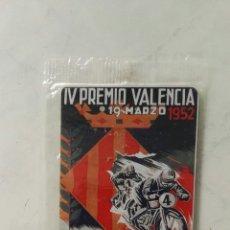 Coches y Motocicletas: IMÁN REPRODUCCIÓN CARTEL CARRERA MOTOCICLISTA INTERNACIONAL EN CHAPA METAL. Lote 119150518