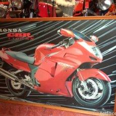 Coches y Motocicletas: MOTO HONDA CBR 1100 XX POSTER ENMARCADO 100X70 CMS. Lote 119248187