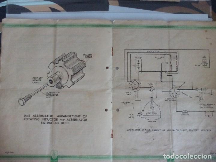 Coches y Motocicletas: Alternador lucas IA45 para motocicletas libro taller moto clasica - Foto 3 - 119277251