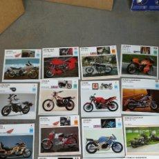 Coches y Motocicletas: FICHAS TÉCNICAS DE MOTO DE PLANETA AGOSTINI. Lote 119871096