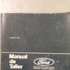 Coches y Motocicletas: MANUAL TALLER FORD FIESTA HASTA 1984 TOMO 1 FEBRERO 1985 GUIA DE TASACIONES . Lote 120232271