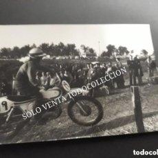 Coches y Motocicletas: MONTESA BULTACO OSSA MOTOCROSS MOTO CLÁSICA FOTO ANTIGUA ORIGINAL. Lote 120288579