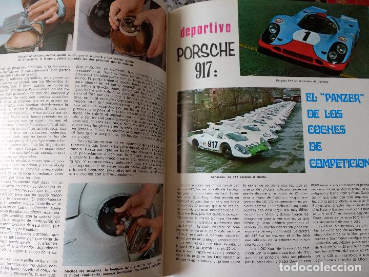 Coches y Motocicletas: ENCICLOPEDIA DEL AUTOMÓVIL.RAFAEL ESCAMILLA.EDITORIAL LINOSA. AÑO 1969. OBRA COMPLETA 3 TOMOS - Foto 4 - 120432891