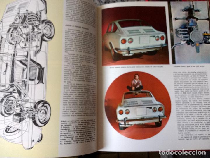 Coches y Motocicletas: ENCICLOPEDIA DEL AUTOMÓVIL.RAFAEL ESCAMILLA.EDITORIAL LINOSA. AÑO 1969. OBRA COMPLETA 3 TOMOS - Foto 5 - 120432891