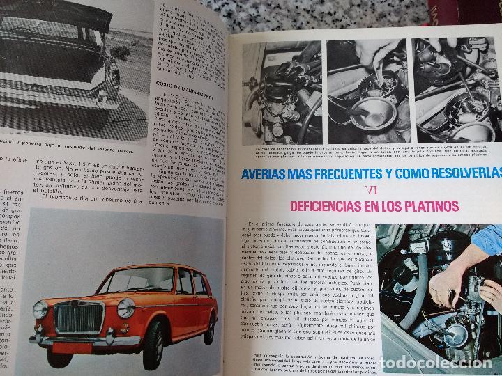 Coches y Motocicletas: ENCICLOPEDIA DEL AUTOMÓVIL.RAFAEL ESCAMILLA.EDITORIAL LINOSA. AÑO 1969. OBRA COMPLETA 3 TOMOS - Foto 6 - 120432891